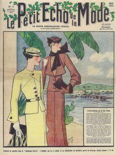 Tailleurs de jour, Le Petit Echo de la mode, 1933