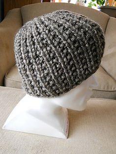 8c01dc6bc8 Ravelry  Inspiration  A Hat pattern by Robin Celli Super Bulky Yarn
