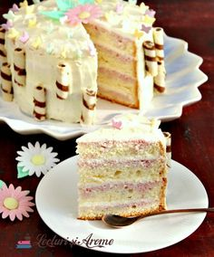 Romanian Desserts, Something Sweet, Vanilla Cake, Cake Recipes, Sweet Treats, Cheesecake, Deserts, Food And Drink, Sweets