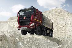 Tatra Phoenix: Nejmladší hvězda z Kopřivnice v obrovské galerii Dump Trucks, Lifted Trucks, Big Trucks, Snow Plow, Central Europe, Car Ins, Motorhome, Motor Car, Military Vehicles
