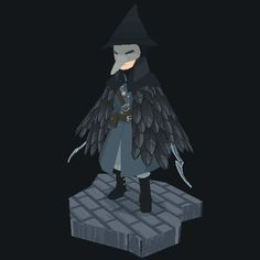 Pchoo - Eileen the Crow, one of my favorite characters...