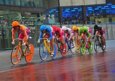 Meeting the women – the 'Girls' – shaking up the Keirin velodrome in Japan.