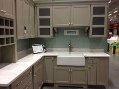 Martha Stewart Kitchen Display @ Home Depot Ox Hill