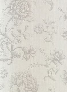 dutch masters galerie #grey #floral #wallpaper #homedecor