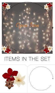 """Open Icon"" by charmalfoy ❤ liked on Polyvore featuring art"