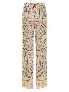 Acquista i pantaloni da donna Etro della nuova stagione sul Sito Ufficiale. Pantalone a palazzo Etro - Codice Prodotto: 151D1865640830500. Scopri la Collezione Primavera Estate 15.