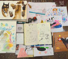 Del cuaderno a la calle Abril. Día 23 Valeria Reynoso  https://www.flickr.com/photos/corazones_sucios_val/