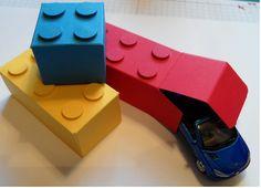 Kids Building Brick Favour Box