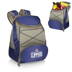 The Los Angeles Clippers Blue PTX Backpack Cooler
