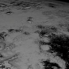 The latest real photos from NASA's New Horizons spacecraft were used for this Pluto flyover. Details & full vid: http://go.nasa.gov/1JfbVge