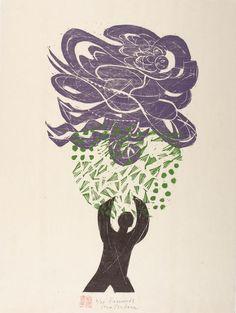 Naoko Matsubara, woodcut