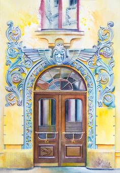 While traveling around the world, it is possible to notice one thing – none of the doors are the same. Sometimes extraordinary, outstanding and mysterious doors often are perceived as an opportunity to get into some kind of magical world.   Young artist Viktoria Kravchenko draw watercolours of doors worldwide and reminds that doors can also be artwork.