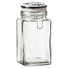 image of Cresta Glass Dog Treat Canister
