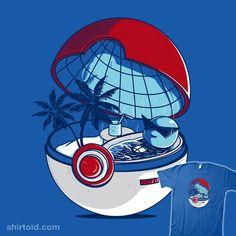 Quelqu'un c'est déjà demandé qu'est ce qu'il y avait dans une pokeball ??? eh ben voila c'est le paradis pokemon !