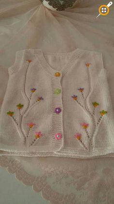– Knitting patterns, knitting designs, knitting for beginners. Baby Knitting Patterns, Knitting Designs, Knitting Stitches, Baby Patterns, Knitting Projects, Hand Knitting, Crochet Patterns, Knit Baby Dress, Knit Baby Booties