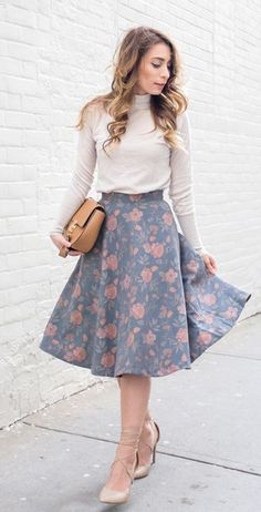 College Fashion | Spring Fashion | Floral Fashion