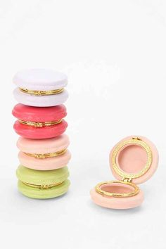 Mouth-watering macaron trinket box available in an array of pretty pastel shades* Perfect for stashing jewelry, pins, spare change, etc. #gift #idea #women