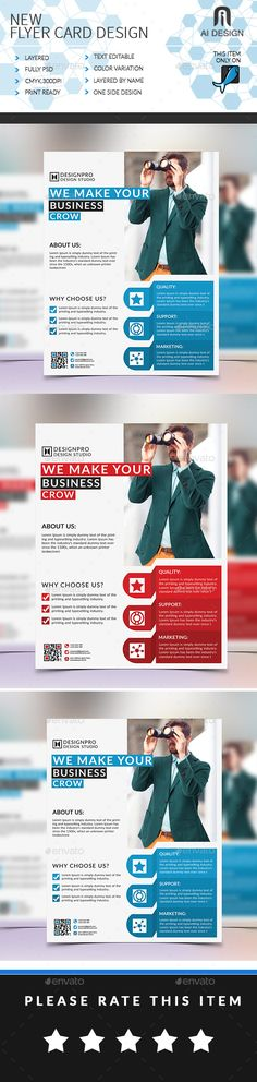 Corporate Flyer Design Business flyers, Flyer template and - corporate flyer template