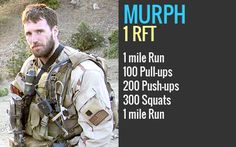 michael-murphy hero wod  I hear this one is just stupid hard... Looking forward to trying it this week