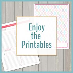 Lots of free printables