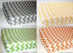 Chevron Contoured Changing Pad Cover- CHOOSE FROM 10 COLORS. $22.50, via Etsy. @Jessica Mitchell