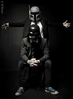 Star Wars Fashion Boba Fett & Darth Vader By Photographer  M.Flóvent Ljósmyndun