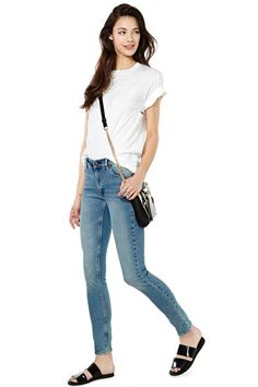 RES Kitty Skinny Jeans - Blue