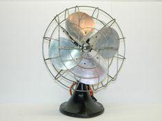 Vintage Electric Fan Antique Oscillating Fan