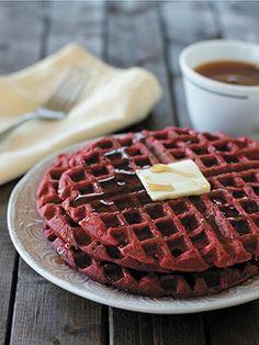 Recipes from The Nest - Red Velvet Waffles