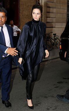 Kendall Jenner from The Big Picture: Today's Hot Pics  The model makes sure to look both ways in Paris after walking at Givenchy's Men's Spring/Summer 2016 show.
