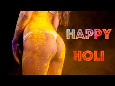 Poonam Pandey: The controversy queen playing with Holi colors in a bikini video going Viral