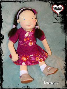 Wanda, waldorf inspired doll Waldorf doll by Anime Dolls, Waldorf Dolls, Hungary, Harajuku, Etsy Shop, Inspired, Creative, Handmade, Fashion