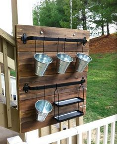 A great herb garden idea! - had this idea in my head and found it finally on Pinterest