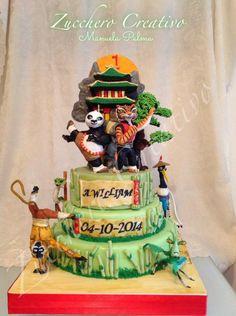 Kung Fu Panda Cake Cakes And Food Pinterest Kung Fu