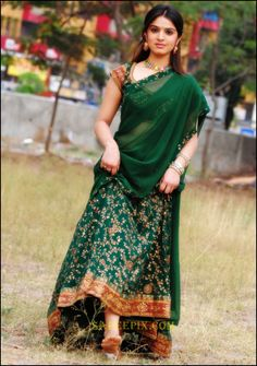 Shefali sharma stills in black half saree Beautiful Girl Photo, Beautiful Girl Indian, Most Beautiful Indian Actress, Beautiful Saree, Beautiful Outfits, Beautiful Actresses, Half Saree Function, Set Saree, Dehati Girl Photo