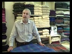 Short video about our range of pure wool Blankets and Throws made in Co. Tipperary. You'll find them all on our website at http://www.irishhandcraft.com/tweed-mill/blankets-throws