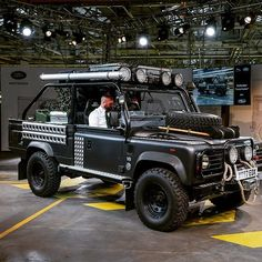 Last of the Land Rover Defenders roll off the production line #lastdefender #defender #tombraider #tombraider #trivett_landrover #landroverdefender #legend by trivett_landrover Last of the Land Rover Defenders roll off the production line.