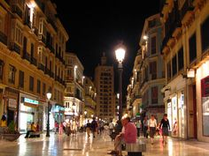 Malaga, Spain. How awesome is it that I lived 2 minutes from this for 6 weeks?