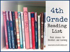 4th grade homeschool reading list