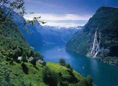 Geiranger Fjord, Norway