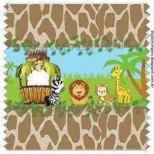 Resultado de imagem para aniversario tema Safari