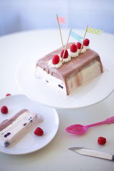 ice cream terrine - coco cake land