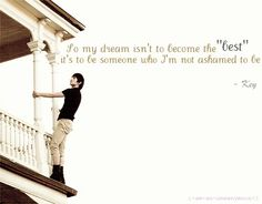 My dream isn't to become the best, it's to be someone who I'm not ashamed to be - Key #Shinee #KPOP
