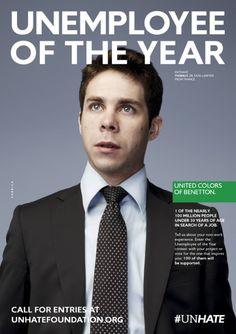 BenettonUnhate-unemploye of the Year 13