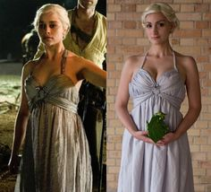 Women From Game of Thrones dresses | Dany's wedding & funeral gown – vol.1