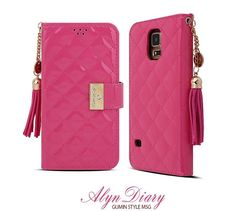 MSG ALYN DIARY WALLET QUILTED FASHION CASE FOR GALAXY S5