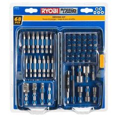 Ryobi, Speed Load Plus Driving Kit (68-Piece), AR20791 at The Home Depot - Mobile