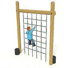 climbing net....backyard fun...project for next summer