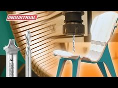 ▶ Kerf Chair, Designed by Boris Goldberg, Using Amana Tool CNC Compression Spiral Bits - YouTube
