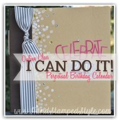 Learn how to create this FUN and adorable project, perfect for gift giving too http://www.handstampedstyle.com